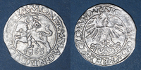 1565 EUROPA Lituanie. Grand Duché. Sigismond III Auguste (1544-1572). ... 25,00 EUR  zzgl. 8,00 EUR Versand