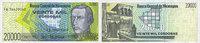 1989 ANDERE AUSLÄNDISCHE SCHEINE Nicaragua. Billet. 20 000 cordobas (1... 4,50 EUR  zzgl. 8,00 EUR Versand