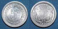 1921 FRANZÖSISCHE NOTMÜNZEN Amiens (80). Chambre de Commerce. 5 centim... 8,00 EUR  zzgl. 8,00 EUR Versand