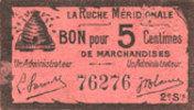 FRANZÖSISCHE NOTSCHEINE Agen (47). La Ruche Méridionale. Billet. 5 ce... 12,00 EUR  zzgl. 8,00 EUR Versand