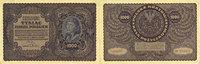 23.8.1919 ANDERE AUSLÄNDISCHE SCHEINE Pologne. Billet. 1 000 marek 23.... 4,00 EUR  zzgl. 8,00 EUR Versand