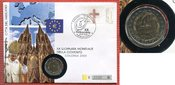 2 Euro Gedenkmünze 2005 Vatikan Welt Jugen...