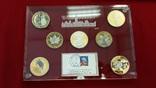 7 x 1 Unze Silber 2008 USA, Kanada, China,...