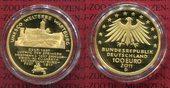 Deutschland BRD Währungsunion 100 Euro Gol...