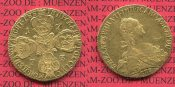 Russland Russia 10 Rubel Goldmnze 1773 ss...
