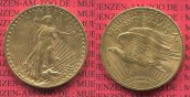USA 20  Dollars Double Eagle Goldmünze 192...
