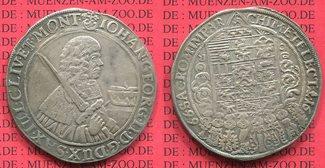Taler 1666 Sachsen Albertinische Linie Joh...