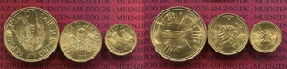 San Marino 1,2, 5 Scudi Gold 1979 Stempelg...