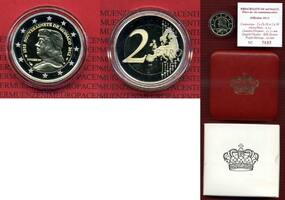 Monaco 2 Euro Gedenkmünze Commemorative Co...