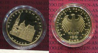Deutschland BRD 100 Euro Aachen 100 Euro G...