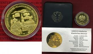 100 Euro Goldmünze 1/2 Unze 2006 G Deutsch...