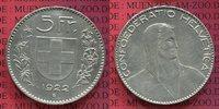 5 Franken Kursmünze 1922 Schweiz Eidgenossenschaft Schweiz 5 Franken 19... 70,00 EUR  zzgl. 4,20 EUR Versand