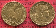 20 Francs Goldmünze, Goldcoin 1905 Frankreich, France, III. Republik Fr... 230,00 EUR