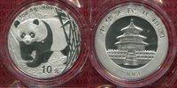 10 Yuan Panda 1 Unze Silber 2001 China Vol...