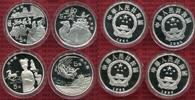 4 x 5 Yuan Silbermünze 1996 China Volksrepublik PRC China 4 x 5 Yuan Si... 325,00 EUR kostenloser Versand