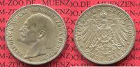 2 Mark Silbermünze Kaiserreich 1900 Oldenburg Oldenburg 2 Mark 1900 , F... 350,00 EUR kostenloser Versand