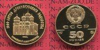 Russland Russia Rußland UDSSR USSR 50 Rubel Gold 1/4 Unze Russland 50 Rubel 1988 St. Sophie Nowgorod, PP Gold
