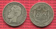 5 Lei Silber 1882 Rumänien Romania Rumänien 5 Lei Silber 1882 Carol. I.... 90,00 EUR  zzgl. 4,20 EUR Versand