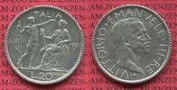 20 Lire 1927 Italien Italien 20 Lire Silber 1927 Jahr VI Victtorio Eman... 290,00 EUR  zzgl. 4,20 EUR Versand