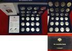 Medaillenset 24 Stück Silber ohne Jahr Rus...