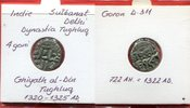 4 Gani Dynasty Tughluq Indien India Delhi Indien Sultanat Delhi 4 Gani ... 39,00 EUR  zzgl. 4,20 EUR Versand