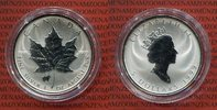 Kanada 5 Dollars Silbermünze Maple Leaf Privy Mark Rabbit - Hase Chinese Lunar