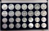 28 Münzen ca. 944 g Fein 1976 Kanada Kanad...
