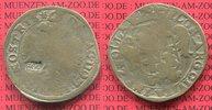 Florin Silber 1576 Zwolle Gegenstempel Holland Zwolle Florin zu 28 Stüb... 45,00 EUR  zzgl. 4,20 EUR Versand