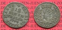 1/12 Taler 1764 Sachsen Albertinische Linie Saxony Sachsen 1/12 Taler 1... 15,00 EUR  zzgl. 4,20 EUR Versand