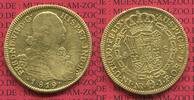 8 Escudos Gold 1819 Columbia Kolumbien Fer...