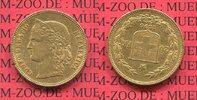 20 Franken 1896 Schweiz, Switzerland Helve...