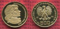 500  Zloty Gold G500Z 1976 Polen, Poland Tadeusz Kosciuszko PP min Kont... 1450,00 EUR kostenloser Versand