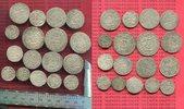 17 Silbermünzen 1693 div Brandenburg Preußen, sachsen, Altdeutschland L... 250,00 EUR  zzgl. 4,20 EUR Versand