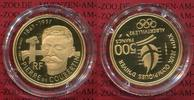 500 Francs Goldmünze 1991 Frankreich Franc...