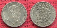 2 Mark Silber 1888 Hessen, Hesse-Darmstadt...