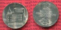 DDR 10 Mark DDR Silber Gedenkmünze 200 Jahre Charité Berlin