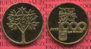 1000 Lirot goldcoin Commemorative 1978 Isr...