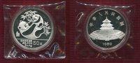 50 Yuan Panda 5 Unzen Silber 1989 China Vo...