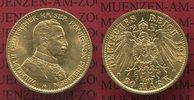 20 Mark Goldmünze 1914 A Preußen, Prussia ...
