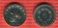 20 Mark Silbergedenkmünze 1968 DDR Gedenkmünze 150. Geburtstag Karl Mar... 49,00 EUR  zzgl. 4,20 EUR Versand
