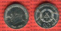 20 Mark Silbergedenkmünze 1969 DDR Gedenkmünze 220. Geburtstag Johann W... 69,00 EUR  zzgl. 4,20 EUR Versand