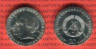 20 Mark Silbergedenkmünze 1971 DDR Gedenkmünze 100. Geburtstag Karl Lie... 49,00 EUR  zzgl. 4,20 EUR Versand