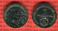 5 Mark 1984 DDR Gedenkmünze 150. Todestag Adolf Freiherr von Lützow prä... 42,00 EUR  zzgl. 4,20 EUR Versand