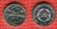 10 Mark Silbergedenkmünze 1968 DDR Gedenkmünze 500. Todestag Johannes G... 35,00 EUR  zzgl. 4,20 EUR Versand