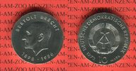 10 Mark Silbergedenkmünze 1973 DDR Gedenkmünze 75. Geburtstag Bertolt B... 33,00 EUR  zzgl. 4,20 EUR Versand