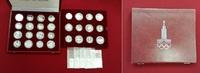14 x 5 u. 14 x 10 Rubel Silber 1977-1980 Russland, USSR, UDSSR Olympisc... 449,00 EUR kostenloser Versand
