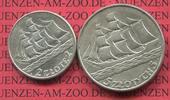 2 und 5 Zloty Silber 1936 Polen, Poland 1936 15th Anniversary of Gdynia... 75,00 EUR  zzgl. 4,20 EUR Versand