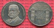 Silbermedaille 1925 Deutsches Reich Hinden...