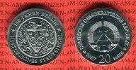 20 Mark Silbergedenkmünze 1987 DDR Gedenkm...