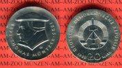 20 Mark Silbergedenkmünze 1989 DDR Gedenkmünze 500. Geburtstag Thomas M... 65,00 EUR  zzgl. 4,20 EUR Versand